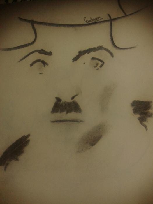 Charlie Chaplin by conchart